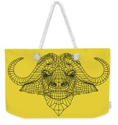 Yellow Buffalo Weekender Tote Bag