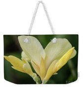 Yellow Canna Lily Weekender Tote Bag
