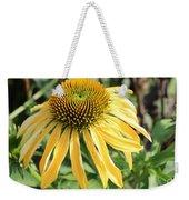 Yellow Cone Flower Weekender Tote Bag