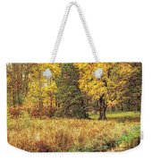 Yellow Forest Weekender Tote Bag