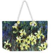 Yellow Irises - Digital Remastered Edition Weekender Tote Bag