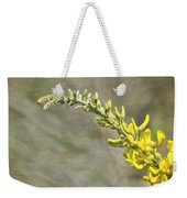 Yellow Lupine Weekender Tote Bag by Carolyn Marshall