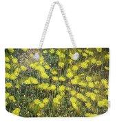 Yellow Meadow Weekender Tote Bag
