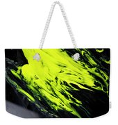 Yellow, No.8 Weekender Tote Bag by Eric Christopher Jackson