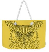 Yellow Owl Weekender Tote Bag
