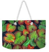 Yellow Pond Lily, Weminuche Wilderness Weekender Tote Bag