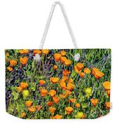Yellow Poppies Of California Weekender Tote Bag