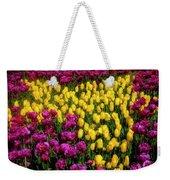 Yellow Star Tulips Weekender Tote Bag
