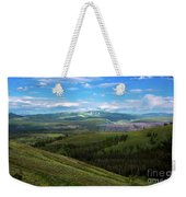 Yellow Stone National Park Where Bears Live  Weekender Tote Bag