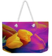 Yellow Tulips 2 Weekender Tote Bag