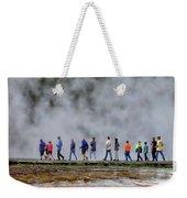 Yellowstone Lineup Weekender Tote Bag