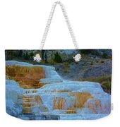 Yellowstone Mineral Deposits Weekender Tote Bag