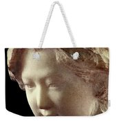 Young Girl-part-arttopan Carving-realistic Stone Sculptures-marble Weekender Tote Bag