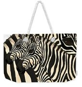Z Is For Zebras Weekender Tote Bag