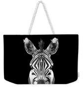 Zebra's Face Weekender Tote Bag