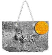 Zebras No 02 Weekender Tote Bag