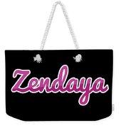Zendaya #zendaya Weekender Tote Bag