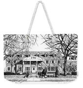 Zeta Tau Alpha Sorority House, Purdue University, West Lafayette, Indiana, Fine Art Print Weekender Tote Bag