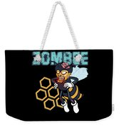 Zombee Zombie Bee Halloween For Beekeeper Apiarist Dark Light Weekender Tote Bag