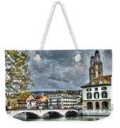 Zurich Switzerland Weekender Tote Bag