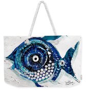 Enter The Icehole Fish Weekender Tote Bag