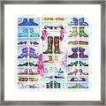 Alaska Berry Fairy Shoon Framed Print