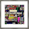 Atomic Bomb Of Purity 7 Framed Print by David Baruch Wolk