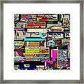Atomic Bomb Of Purity 8 Framed Print by David Baruch Wolk