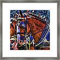 Budwieser Clydesdale Framed Print