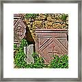 Byzantine Cross In Myra-turkey Framed Print