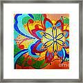 Colorful Tile Abstract Framed Print