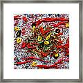 Frutti Di Mare . Abstract. Framed Print