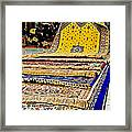Gorgeous  Berber Rugs In Tangiers-morocco Framed Print