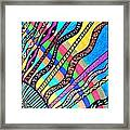 Heavenly Rays Of Love And Healing Framed Print