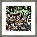 Mccormick Deering Tractor Framed Print