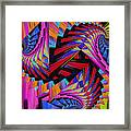 Stairs Framed Print by Soumya Bouchachi
