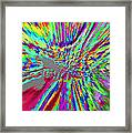 Under The Microscope One Ounce Of Human Fat  Framed Print by Sir Josef - Social Critic -  Maha Art