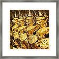Wat Phra Kaeo Temple - Bangkok - Thailand.  Framed Print