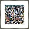0017 Visual Highs Of The Queen City Framed Print