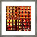 0409 Abstract Thought Framed Print