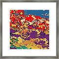 0806 Abstract Thought Framed Print
