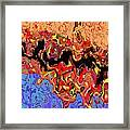 0809 Abstract Thought Framed Print