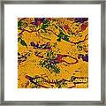 0859 Abstract Thought Framed Print