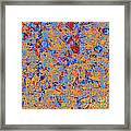 0930 Abstract Thought Framed Print