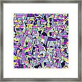 0978 Abstract Thought Framed Print