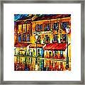 Paris Night Montmartre Framed Print