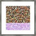 0415 Abstract Thought Framed Print