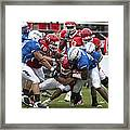 Air Force Versus Houston Framed Print