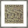 Anemone Design Framed Print by William Morris