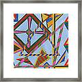 Angles And Tangles Framed Print